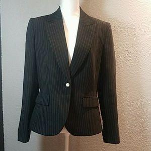 Tahari Black stripe Blazer